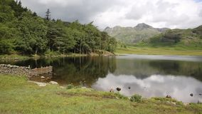 Blea Tarn Lake District Cumbria England UK Royalty Free Stock Photography
