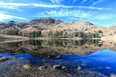 Blea Tarn Reflections Royalty Free Stock Photography