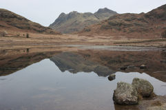Blea Tarn in winter Stock Photography