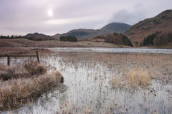 Blea Tarn in winter Royalty Free Stock Photo