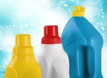 Bleach. Laundry plastic textile cleaning laundry detergent chemical stock image