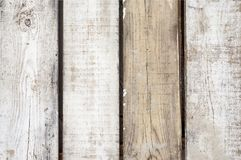 Bleached Wooden Planks royalty free stock photography