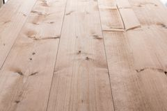 Bleached wooden planks background Stock Photo