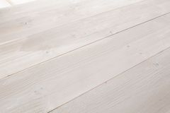 Bleached wooden planks background Stock Image