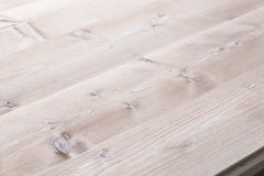 Bleached wooden planks background Stock Photography