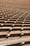 Bleachers. Bleacher Rows at Outdoor Amphitheater Royalty Free Stock Photography