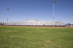 Bleachers and Field Royalty Free Stock Photos