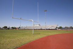 Bleachers and Field Stock Photography