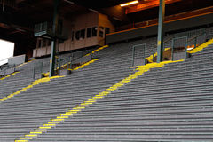 Bleachers at Historic Hayward Field Royalty Free Stock Images