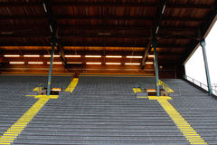Bleachers at Historic Hayward Field Stock Image