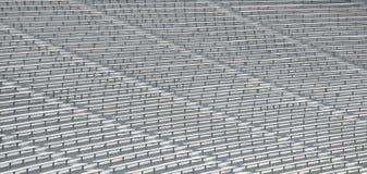 Bleachers on stadium Stock Photos
