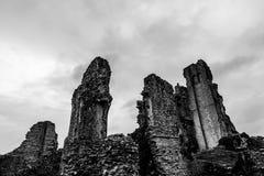 Bleak Dorset ruins Stock Photos