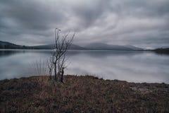 Bleak Loch Lomond Royalty Free Stock Photos