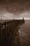 Bleak Pier Royalty Free Stock Images