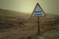 Bleak times ahead Royalty Free Stock Photos