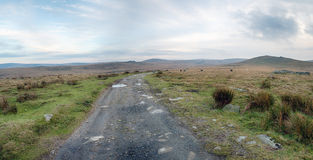 A Bleak Winter's Day on dartmoor Stock Photo