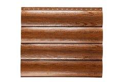 Blech-Abstellgleis Zuverlässiger Schutz der Wände des Hauses Getrennt auf weißem Hintergrund stockbild