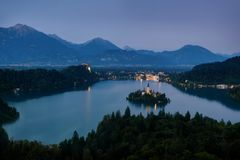 Bled Blejski Otok, Slovenia. Taken in 2015 Stock Images