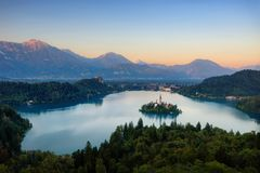 Bled Blejski Otok, Slovenia. Taken in 2015 Royalty Free Stock Photos