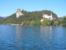 Bled castle Stock Image