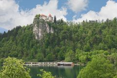 Bled castle Stock Photo