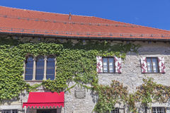 Bled Castle building. Stock Photo