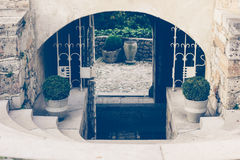 Bled Castle close up Stock Photos