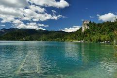 Bled Castle. On bled kaje Royalty Free Stock Photography