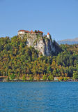 Bled Castle,Lake Bled,Slovenia Stock Photos