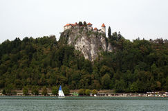 Bled castle Royalty Free Stock Images