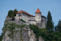 Bled Castle Royalty Free Stock Photo