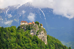 Bled Castle, Slovenia Royalty Free Stock Photography