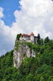 Bled Castle, Slovenia Stock Photography