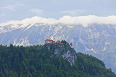 Bled castle, Slovenia Royalty Free Stock Photo