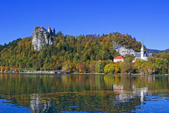 Bled Castle View 12 Royalty Free Stock Photos