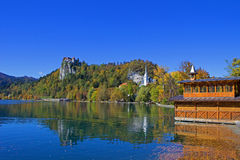 Bled Castle View 17 Royalty Free Stock Photo