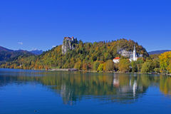 Bled Castle View 20 Royalty Free Stock Photography