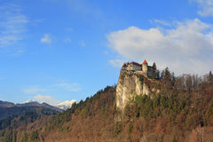 Bled Castle1 Stock Photos