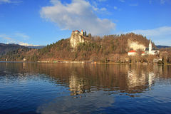 Bled Castle4 Stock Photos