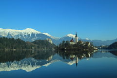 Bled,Church Island Royalty Free Stock Photo