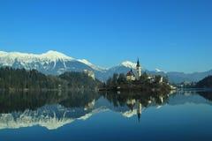 Bled,Church Island Royalty Free Stock Photo