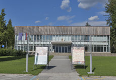 Bled Congress Center, Slovenia Royalty Free Stock Photo