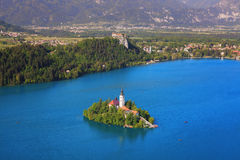 Bled Island Royalty Free Stock Photos
