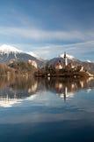 Bled lake Royalty Free Stock Image