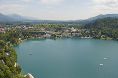 Bled and the lake Royalty Free Stock Photography