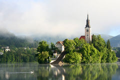 Bled Lake Royalty Free Stock Photography