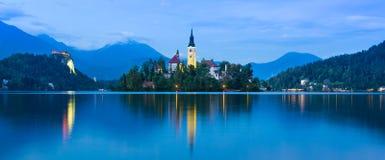 Bled Lake in Julian Alps, Slovenia. Stock Photos