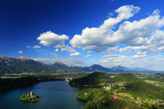 Bled Lake Royalty Free Stock Photo