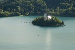 Bled lake Stock Image
