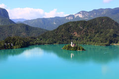 Bled lake, Slovenia Stock Photography